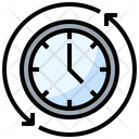 Clock Clockwise Time Icon