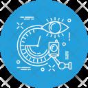 Clock Camera Security Icon