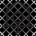 Clock Pendulum Wall Icon