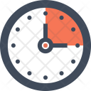 Clock Time Deadline Icon