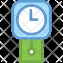 Clock Cuckoo Grandfather Icon