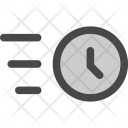 Clock Delivery Time Icon