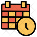 Clock Calender Schedule Icon