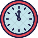 Clock Countdown Eve Holidays Icon