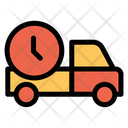 Clock Delivery Shipping Icon
