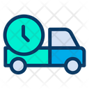 Clock Delivery Icon