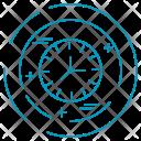 Clock Optimization Seo Icon