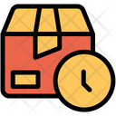 Clock Box Package Icon