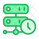 Server Clock Storage Icon