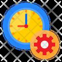 Clock Setting Clock Watch Icon