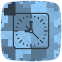 Clock Time Action Icon