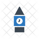 Clocktower Watch Building Icon