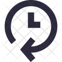 Clockwise Process Waiting Icon