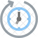 Clockwise Repeat Replay Icon
