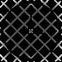 Clockwise Clock Sync Icon