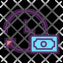 Clockwise Money Icon