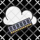 Ram Memory Cloud Icon