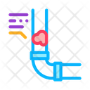 Clogged Pipe Icon