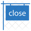 Close Board Sign Icon