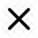 Cross Close Cancel Icon