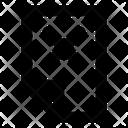 Close File Data Icon