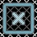 Cancel Close User Interface Icon