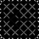 Close Arrow Left Icon