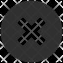 Button Close Delete Icon