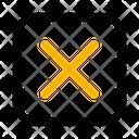Close Delete Cancel Icon