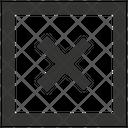 Close Cross Cancel Icon