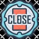 Close Sign Store Icon