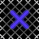 Close Cancel Delete Icon