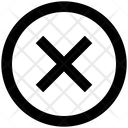 Dismiss Circle Close Cancel Icon