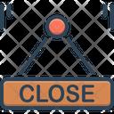Close Shut Label Icon