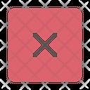 Close Exit Cancel Icon
