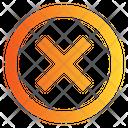 Close Block Cancel Icon