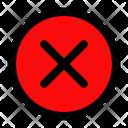 Close Cancel Error Icon