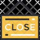 Close Shop Closed Icon