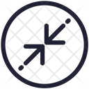 Point Arrows Sign Icon