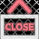 Close Banner Label Service Icon