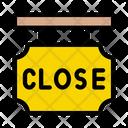 Close Shop Banner Icon