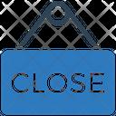 Close Board Close Hanging Board Icon