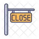 Close Board Restaurant Icon
