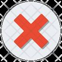 Close Button Delete Button Wrong Sign Icon