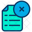 Document Close File Icon