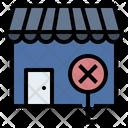 Close Down Loss Depression Icon