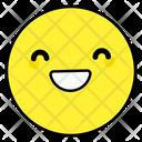 Close Eyes Emoji Emoticon Smiley Icon