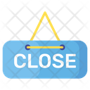 Close Label Shopping Label Close Sign Icon