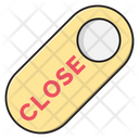 Close Tag Door Icon