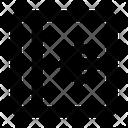 Close Left Arrow Icon